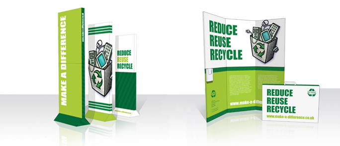 Recyclable Displays banner