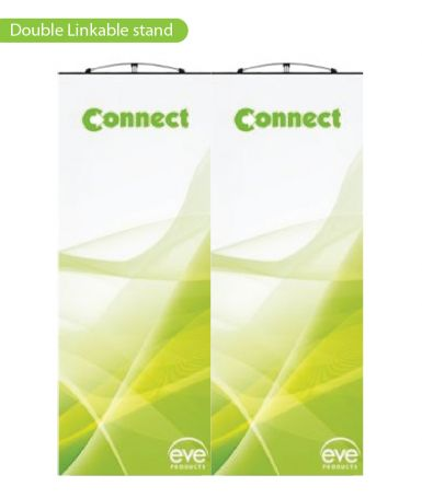 Linkable Banner Stands - 2 wide