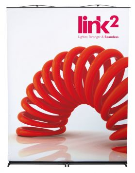 Link² 2 roller banners package image