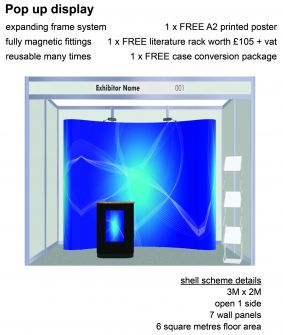 Pop-up display exhibition package 1 image
