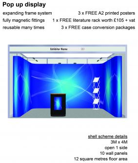 Pop-up display exhibition package 7 image