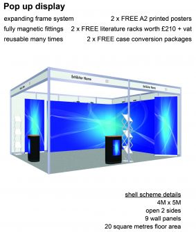 Pop-up display exhibition package 11 image