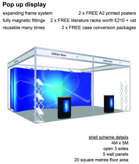Pop-up display exhibition package 12 image