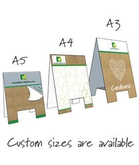 Tent Cards - A frame style image
