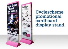 Cycle Scheme branded Eco-Bannerstand image
