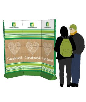 Linked Eco-Bannerstand | Design 1 image