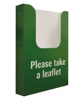 Leaflet holder to fit an Eco-Bannerstand image